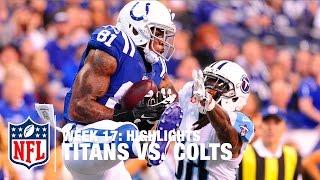 Titans vs. Colts | Week 17 Highlights | NFL