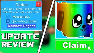 *RAINBOW* ALL BUBBLE GUM SIMULATOR CODES | UPDATE 28 REVIEW | ROBLOX