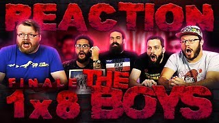 """The Boys 1x8 FINALE REACTION!! """"You Found Me"""""""