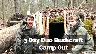 3 day duo bushcraft camp out