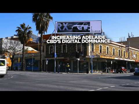 Digital Billboard | oOh! | Hindley & Morphett, SA