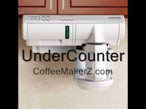 Under Counter Coffee Maker    The 5 Reasons   YouTube