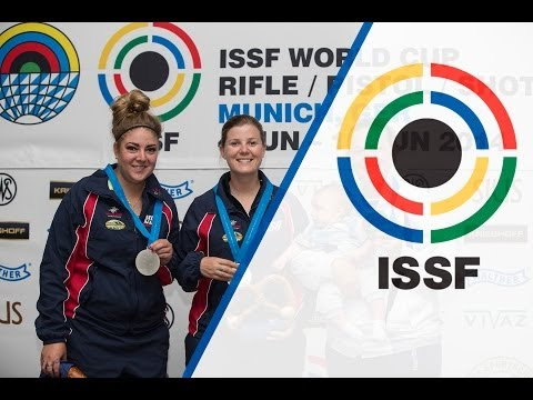 Trap Women Final - ISSF World Cup in all events 2014, Munich (GER)