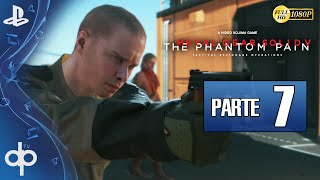 Metal Gear Solid 5 The Phantom Pain Parte 7 Gameplay Español PS4 1080p 60fps | Episodio 7 Laton Rojo