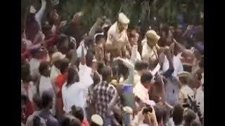 Locals celebrate encounter of Hyderabad rape and murder case accused