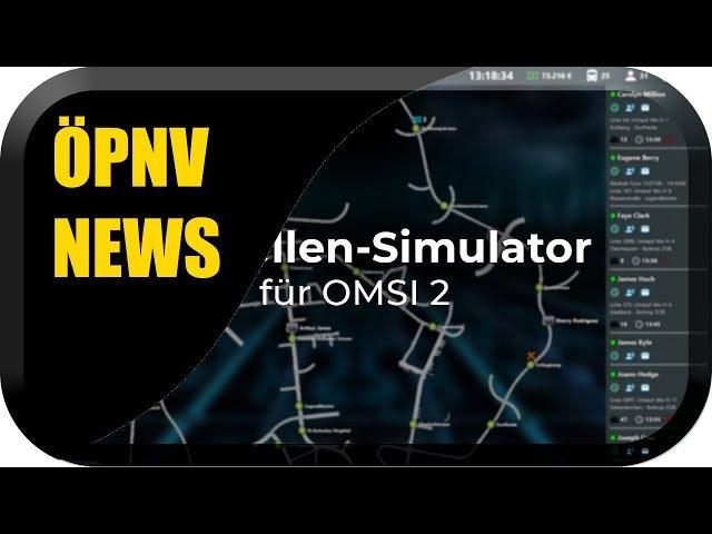 ÖPNV Simulator News #24 Bus Simulator Release, TS2020 Stream & Omsi 2 Leitstellen Simulator