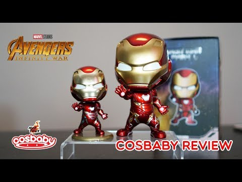 Iron Man M Cosbaby Hot Toys Review And Unbox