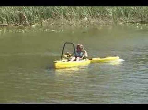 Freedom Hawk Kayaks - Freedom 14 How it Works