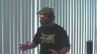 ADULT PUTTING ON my HALO 3 Legendary Helmet!