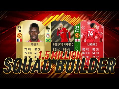 OVERPOWERED 1.5 MILLION COIN SQUAD!! - FIFA 18 ULTIMATE TEAM SQUAD BUILDER