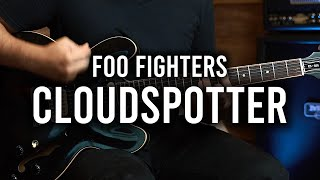 Foo Fighters - Cloudspotter - Guitar Cover - Fender Chris Shiflett Telecaster