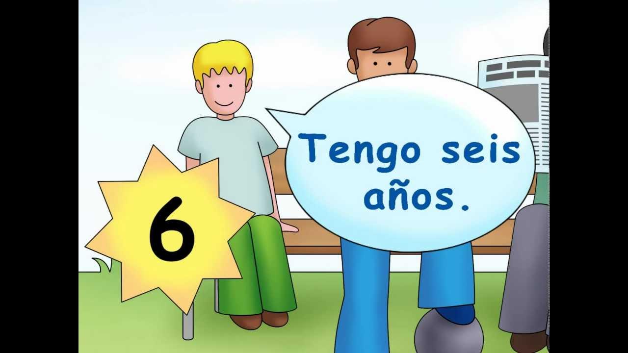 How old are you  Cuntos aos tienes  Calico Spanish