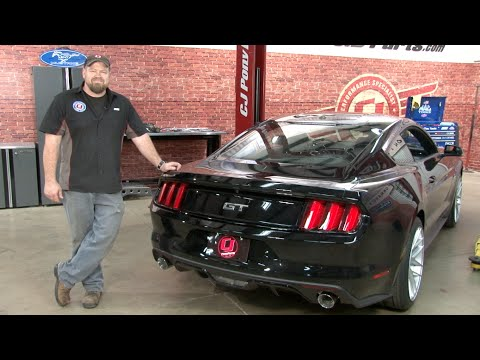 2015 2019 Mustang Gt Arh Long Tube Headers With Catted X Pipe And Axle Back Installation