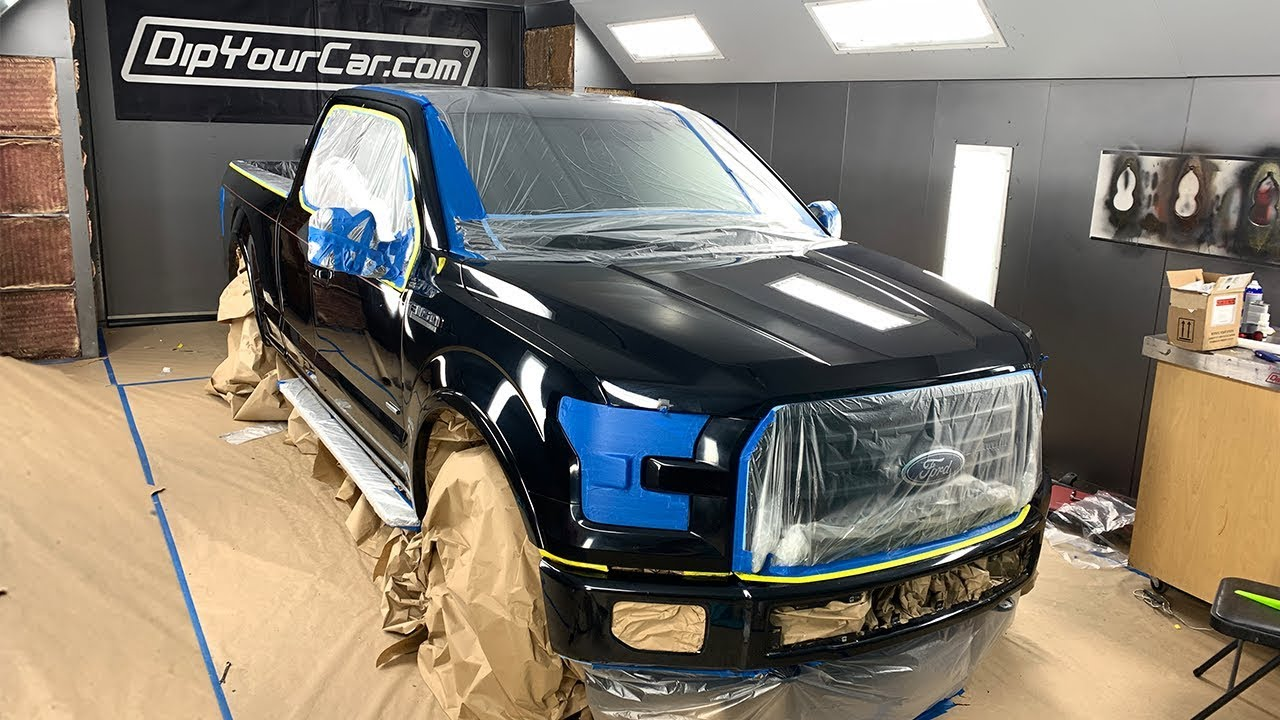 Our New Dyc Truck Gets It S First Dip Color Full Walkthrough Youtube