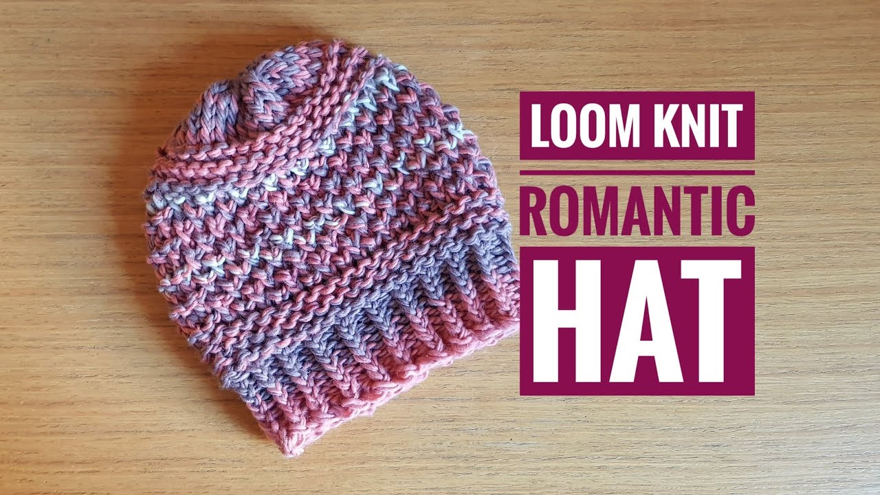 b33648ab084be How to Loom Knit the Romantic Hat (DIY tutorial)