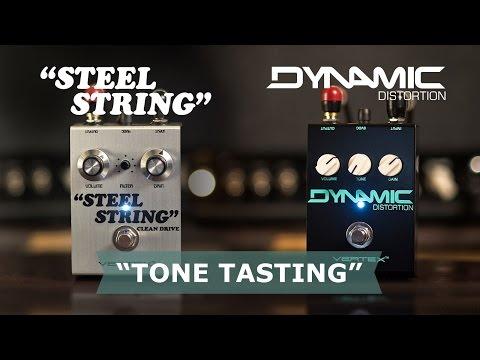 """Tone Tasting"" Dynamic Distortion vs. Steel String feat. Corey Congilio"