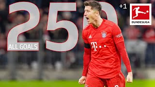 Robert Lewandowski - All 250 Bundesliga Goals
