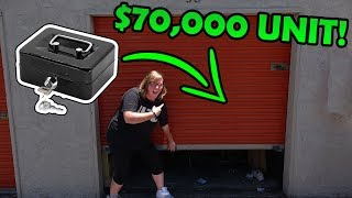BOX FULL OF MONEY FOUND IN $70,000 STORAGE UNIT! I Bought An Abandoned Storage Unit