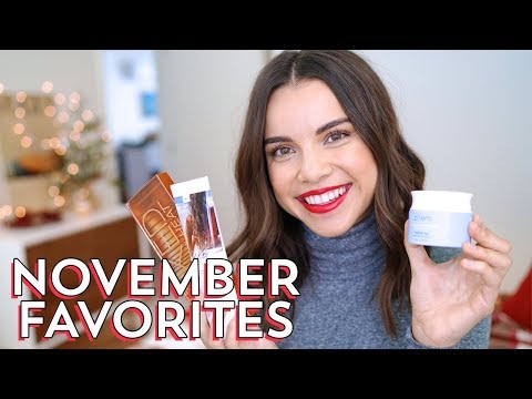 November Favorites! | Ingrid Nilsen