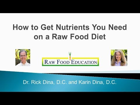 How to Get Nutrients You Need on a Raw Food Diet 2017