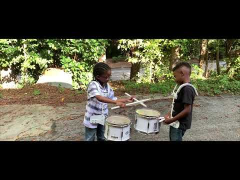 The Baby Boy Drummers Friendly Snare Drum Battle With Atlanta Drum Academy