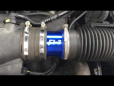 Turbine F1-Z plus filtre à air KN part.2