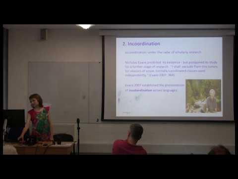 "The ""mirror"" of insubordination, Linguistics Seminar, SOAS University of London"