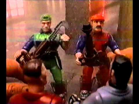 Super Mario Bros Movie Ertl Action Figure Commercial 1993 Youtube