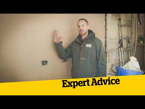 How to Plaster an Extension: How to Build an Extension (10)