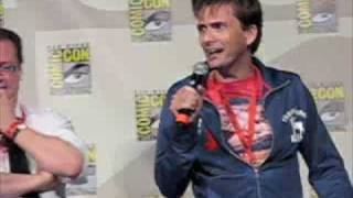 David Tennant & John Barrowman Kiss - SD Comic Con