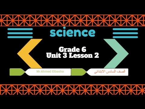 ساينس لغات - Unit 3 Lesson 2 - Carbon dioxide - Grade 6