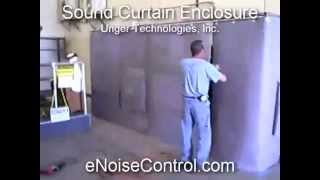 Sound Curtain   For Maximum Sound Control and Noise Reduction