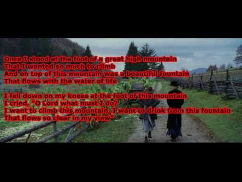 Cold Mountain - Great High Mountain with lyrics