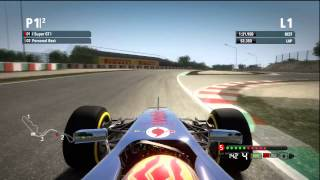 F1 2012: Suzuka Time Trial - 3rd Global Rank (X360)