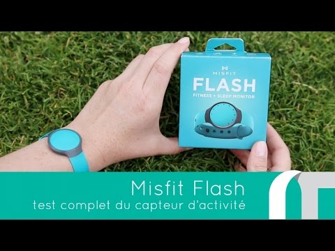 misfit flash test complet du capteur d 39 activit youtube. Black Bedroom Furniture Sets. Home Design Ideas
