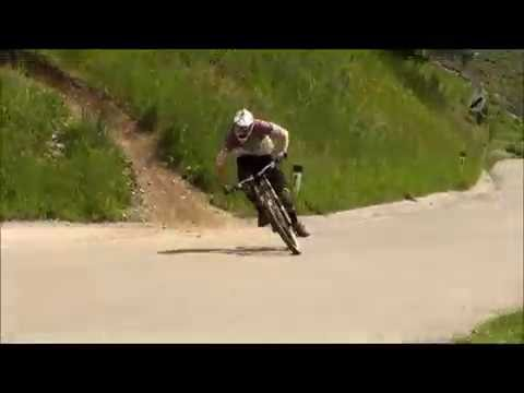 Schladming Downhill Worldcup Track Joe Nation and James Hoggan