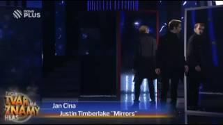 Jan Cina jako Justin Timberlake ,,Mirrors''
