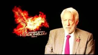 Donald Sutherland: Hunger Games ist ein Gleichnis für Hintergrundmächte in den USA