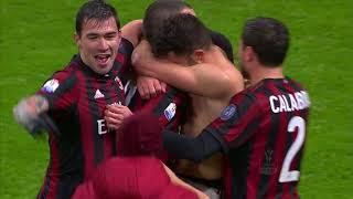 Il gol di Cutrone - Milan - Inter 0-0 (1-0 dts) - TIM Cup 2017/18