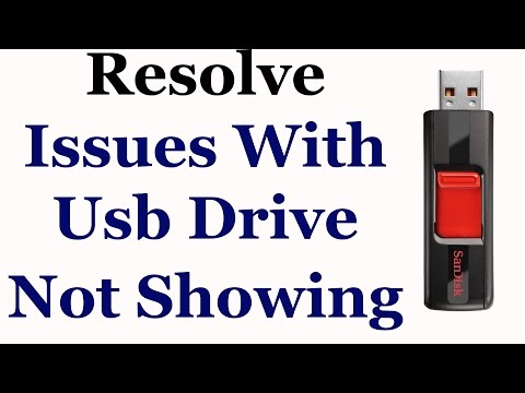 How To Fix Issues With Usb Drive Not Showing In My Computer