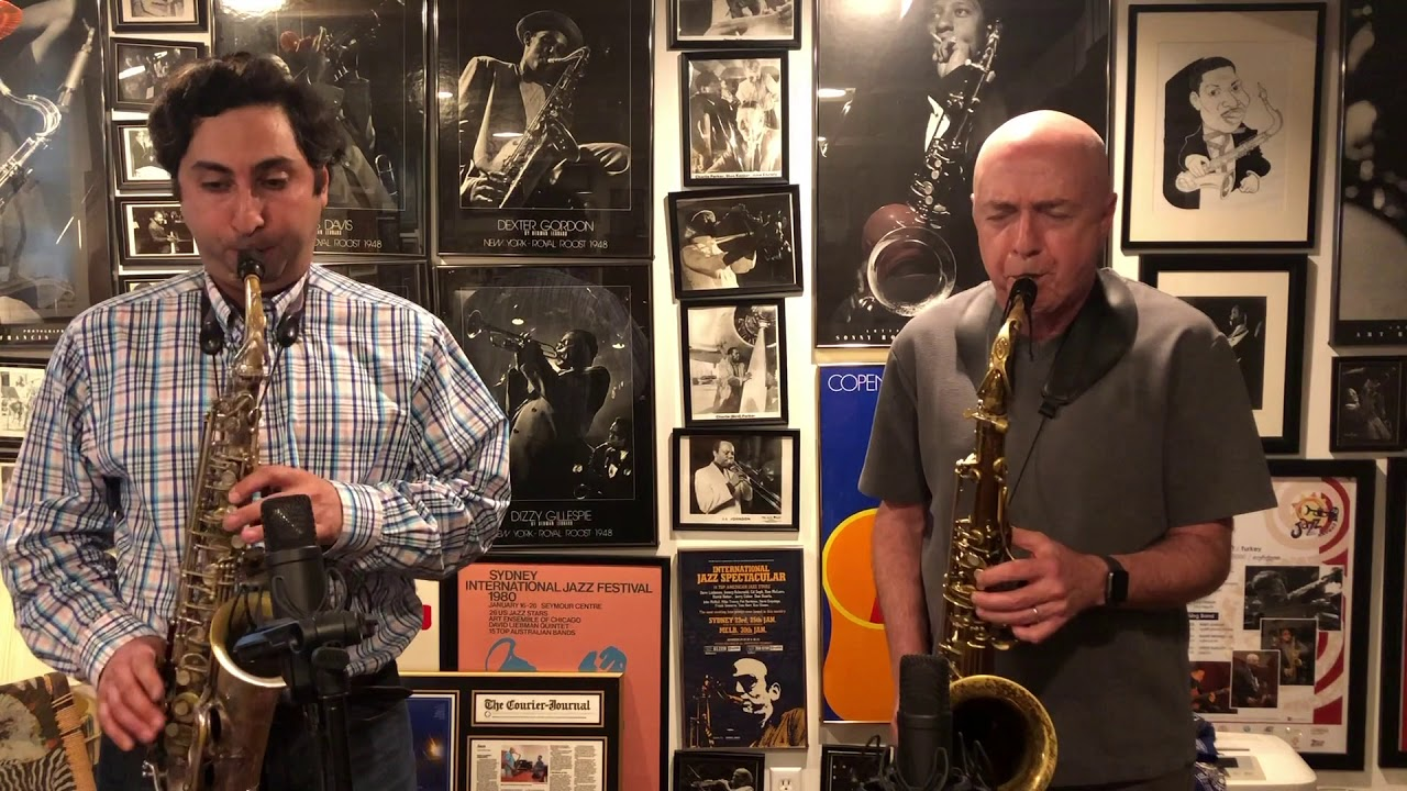 Sax Duo with Mike Tracy