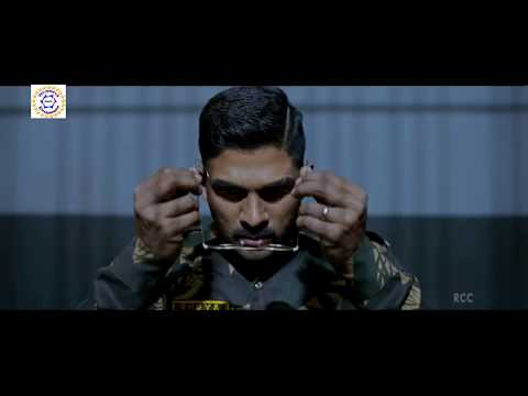 The Brave Soldier Trailer in Hindi Dubbed   Allu Arjun, Arjun Sarja