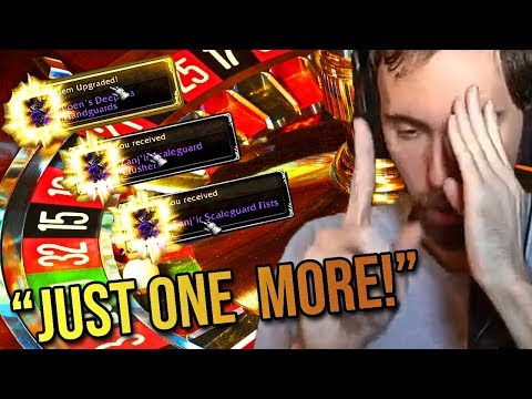 Asmongold Is ADDICTED To The Benthic Gear Lottery