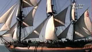 A-W-E-S-O-M-E  HMS SURPRISE - Tall Ship on the Open Sea!