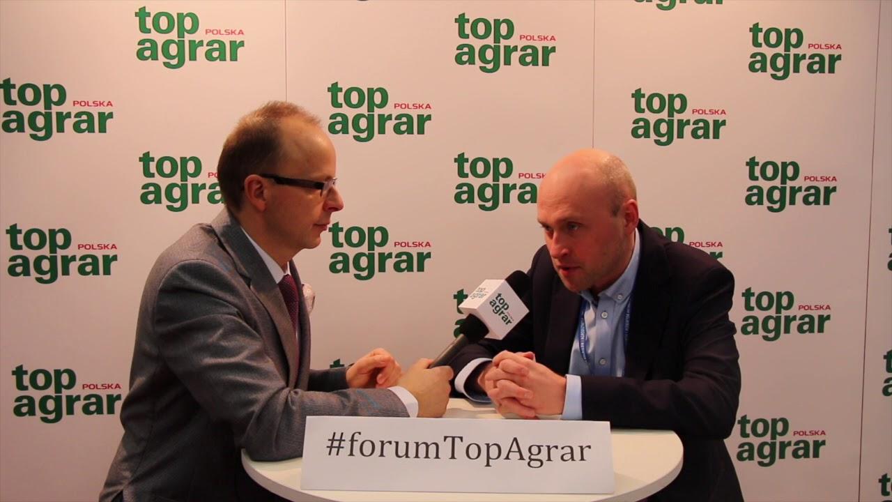 #forumTopAgrar: Maciej Piskorski o potencjale polskiego rolnictwa.