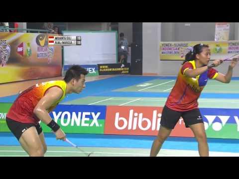 F - 2014 Indonesian Masters GPG  - Riky Widianto-Puspita Dili vs Muhammad Rijal- Vita Marissa
