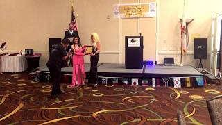 """""""Actress of the Year"""" at the 2018 USA Martial Arts Hall of Fame"""