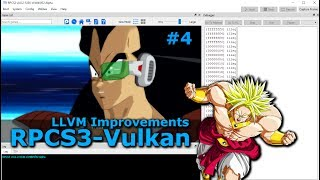 [Outdated!]-PS3 Emulator-RPCS3-LLVM-Vulkan Dragon Ball Z: Burst Limit  #4 | LLVM Fixes | AMD FX 6300