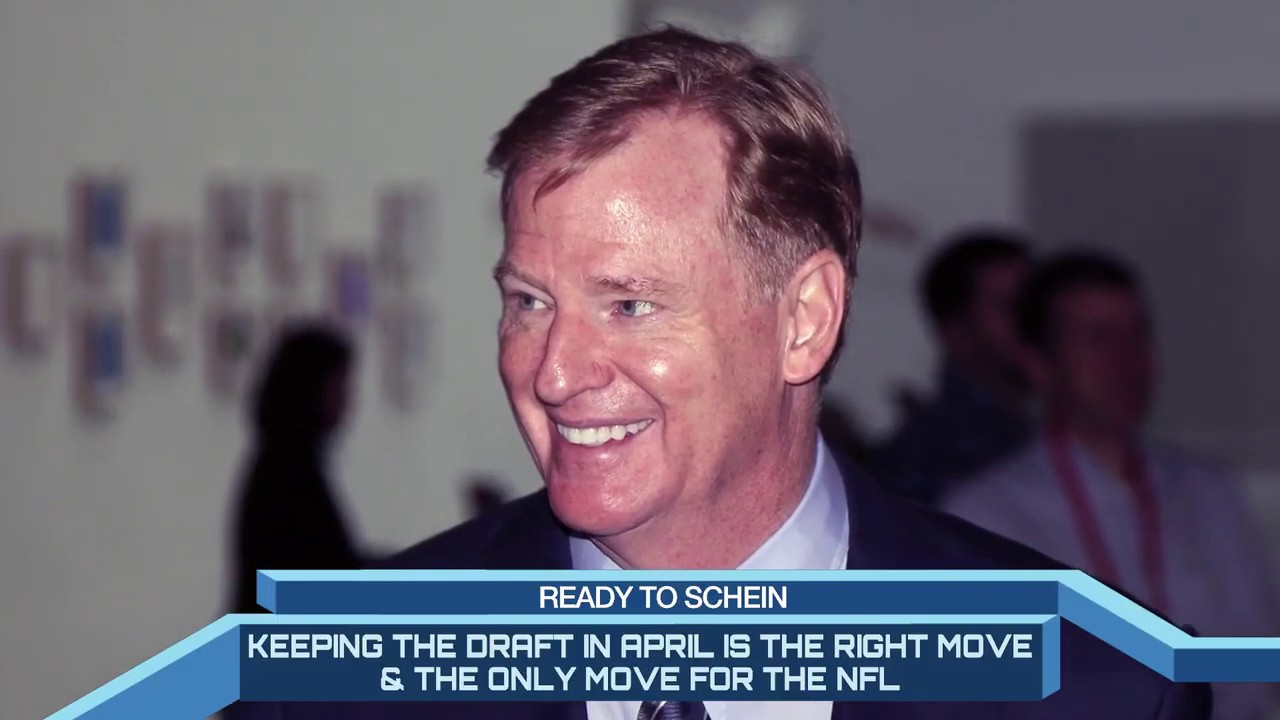 Draft Should Go On As Planned | Time To Schein | CBS Sports Network