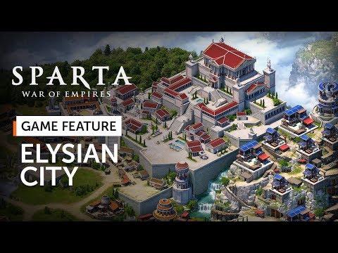 Sparta: War Of Empires - Elysian City